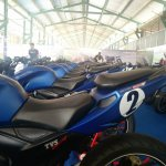 TVS Apache RTR 200 track experience at MMRT seat view