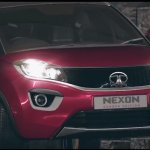 Tata Nexon Geneva Edition Red colour