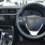 Toyota Corolla ESport at 2017 Bangkok International Motor Show dashbord driver side