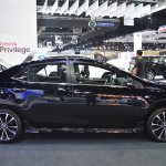 Toyota Corolla ESport at 2017 Bangkok International Motor Show profile