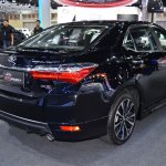 Toyota Corolla ESport at 2017 Bangkok International Motor Show rear three quarters