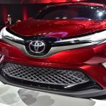 Toyota Fengchao Way concept front fascia at Auto Shanghai 2017