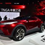 Toyota Fengchao Way concept front three quarters at Auto Shanghai 2017