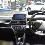 Toyota Sienta dashboard at 2017 Bangkok International Motor Show