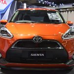 Toyota Sienta front at 2017 Bangkok International Motor Show