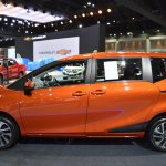 Toyota Sienta profile at 2017 Bangkok International Motor Show