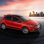 VW Polo GT Sport edition front three quarters