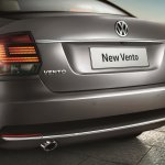 VW Vento Highline Plus rear fascia