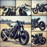 Yamaha R15 Tony 535 by Inline3 Cutom Motorcycles angles