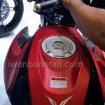 Yamaha V-Ixion R engine fuel tank