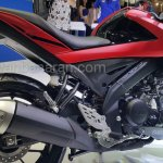 Yamaha V-Ixion R engine side view