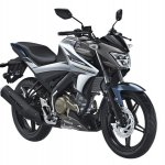 Yamaha V-Ixion front three quarter studio grey
