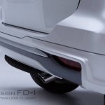 2016 Toyota Fortuner Fiar Design Body kit exhaust pipe Studio shots