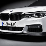 2017 BMW 5 Series BMW M Performance front splitter