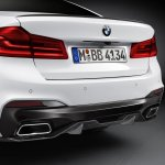 2017 BMW 5 Series BMW M Performance rear diffuser