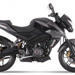 2017 Bajaj Pulsar NS200 black-grey