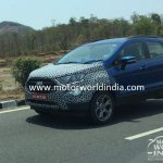 2017 Ford EcoSport (facelift) front spied in India for the first time