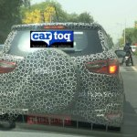2017 Ford EcoSport red in Arpoadar Red spied testing