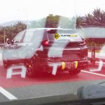 2017 Honda CR-V rear three quarter spied in Malaysia