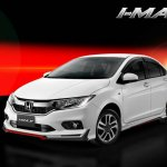 2017 Honda City with IMAX body kit front three quarters