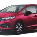 2017 Honda Jazz (2017 Honda Fit) front three quarters left side leaked image