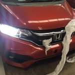2017 Honda Jazz RS (facelift) front end In Images