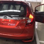 2017 Honda Jazz RS (facelift) rear end In Images