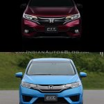 2017 Honda Jazz vs. 2013 Honda Jazz front
