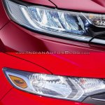 2017 Honda Jazz vs. 2013 Honda Jazz headlamp