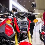 2017 Honda MSX125 at 2017 Vietnam Motorcycle Show headlamp