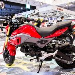2017 Honda MSX125 at 2017 Vietnam Motorcycle Show side