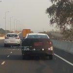 2017 Hyundai Verna continues testing rear