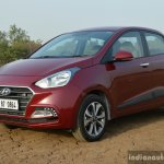 2017 Hyundai Xcent 1.2 Diesel (facelift) front three quarter review