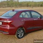2017 Hyundai Xcent 1.2 Diesel (facelift) rear high review