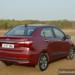 2017 Hyundai Xcent 1.2 Diesel (facelift) rear three quarter review