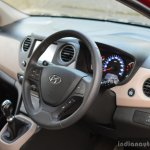 2017 Hyundai Xcent 1.2 Diesel (facelift) steering wheel review