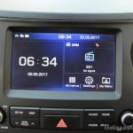 2017 Hyundai Xcent 1.2 Diesel (facelift) touchscreen review