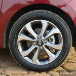 2017 Hyundai Xcent 1.2 Diesel (facelift) wheel review