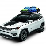 2017 Jeep Compass with Mopar accessories
