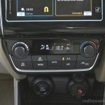 2017 Maruti Dzire HVAC controls First Drive Review