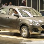 2017 Maruti Dzire base model spotted in factory