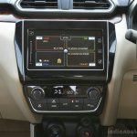 2017 Maruti Dzire center console First Drive Review