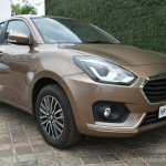 2017 Maruti Dzire front three quarter diesel First Drive Review