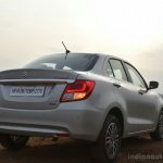 2017 Maruti Dzire rear low First Drive Review