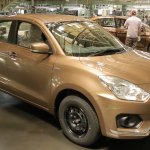 2017 Maruti Dzire spotted in sherwood brown