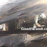 2017 Maruti S-Cross headlamp spy shot India