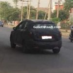 2017 Maruti S-Cross rear three quarters spy shot India