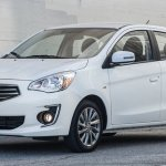 2017 Mitsubishi Attrage front three quarter unveiled