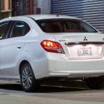 2017 Mitsubishi Attrage rear quarter unveiled