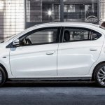 2017 Mitsubishi Attrage side unveiled